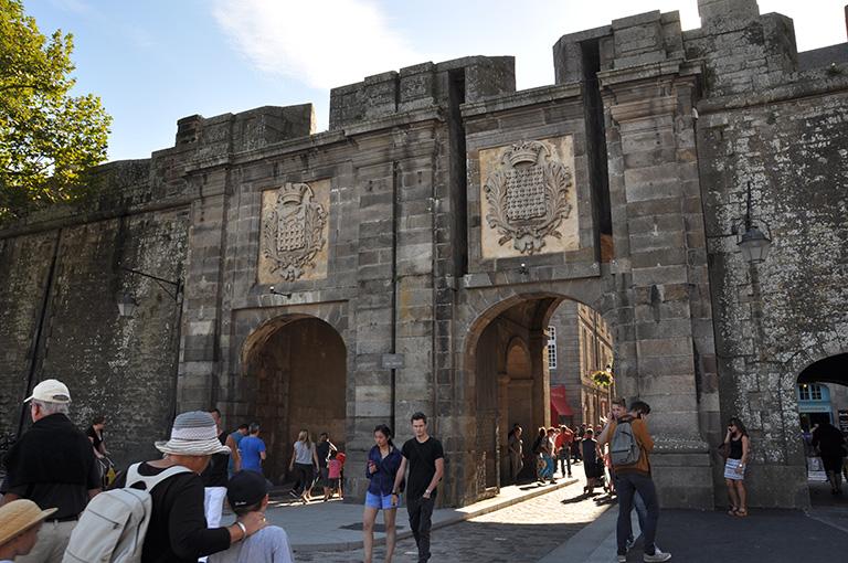 Porte d'entrée de Saint-Malo