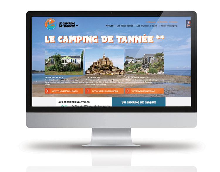 Le site du Camping de Tannée - Chloé Allard